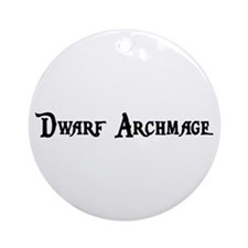 Dwarf Archmage Ornament (Round)