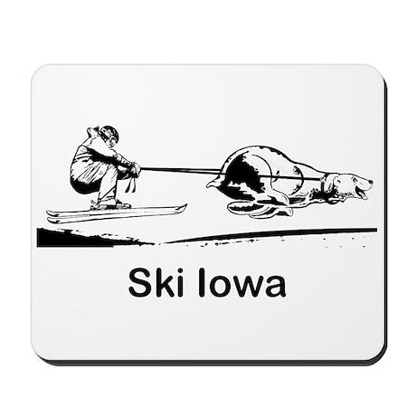 Ski Iowa Mousepad