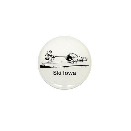 Ski Iowa Mini Button (100 pack)