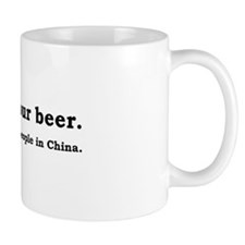 Finish Your Beer Mug