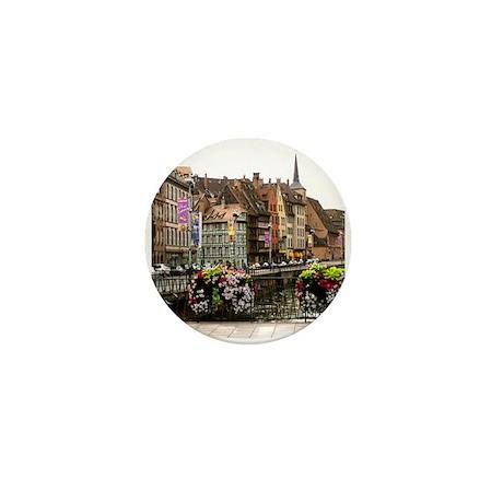 Strasbourg, France Mini Button (10 pack)