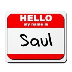 Hello my name is Saul Mousepad
