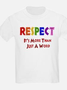Rainbow Respect Saying T-Shirt