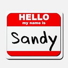 Hello my name is Sandy Mousepad