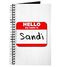 Hello my name is Sandi Journal