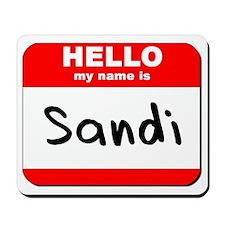 Hello my name is Sandi Mousepad