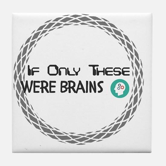 Cool Brains Tile Coaster