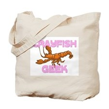 Crayfish Geek Tote Bag