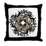 Samhain Celtic Knot Throw Pillow