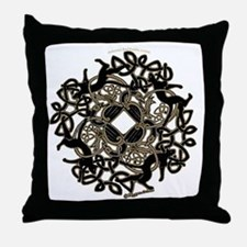 Samhain Celtic Knot Throw Pillow