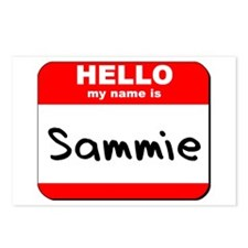 Hello my name is Sammie Postcards (Package of 8)