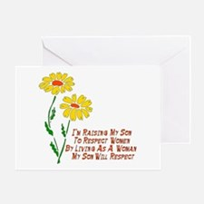 Respect Women Greeting Card