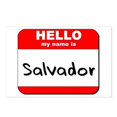 Hello my name is Salvador Postcards (Package of 8)