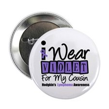 "Hodgkin's Ribbon 2.25"" Button (10 pack)"