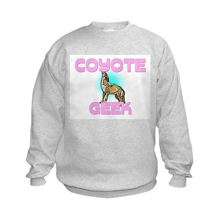 Coyote Geek Kids Sweatshirt