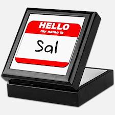 Hello my name is Sal Keepsake Box