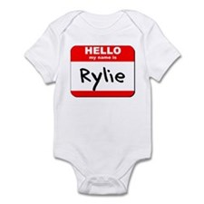 Hello my name is Rylie Infant Bodysuit
