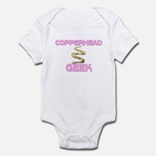Copperhead Geek Infant Bodysuit