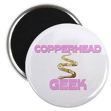 Copperhead Geek Magnet