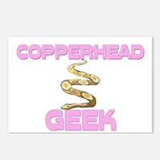 Copperhead Geek Postcards (Package of 8)