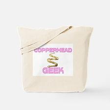 Copperhead Geek Tote Bag