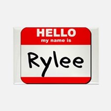 Hello my name is Rylee Rectangle Magnet