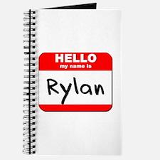 Hello my name is Rylan Journal
