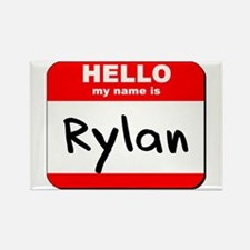 Hello my name is Rylan Rectangle Magnet