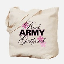 Proud Army Girlfriend Tote Bag