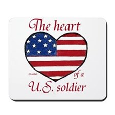 Heart of a Soldier Mousepad