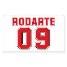 RODARTE 09 Rectangle Decal