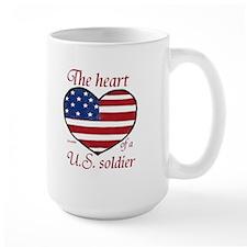 Heart of a Soldier Mug