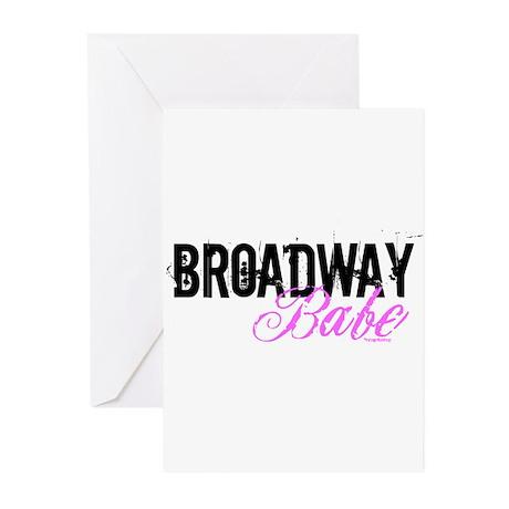 Broadway Babe Greeting Cards (Pk of 20)