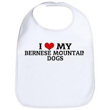 I Love My Bernese Mountain Do Bib