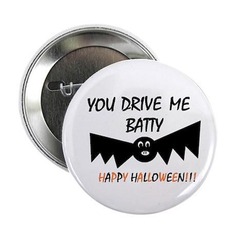 """BATTY HALLOWEEN 2.25"""" Button"""