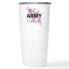 Proud Army Mom Ceramic Travel Mug
