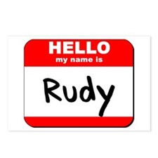 Hello my name is Rudy Postcards (Package of 8)