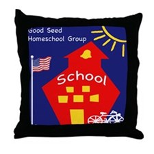 Good Seed HomeSchool Throw Pillow