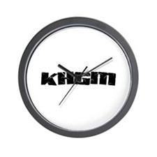 KHGM Wall Clock