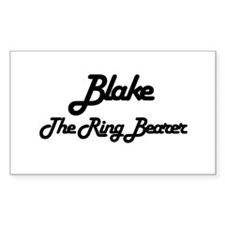 Blake - The Ring Bearer Rectangle Decal