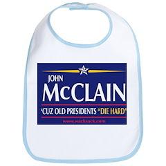 John McCLAIN for President Bib