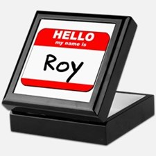 Hello my name is Roy Keepsake Box