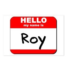 Hello my name is Roy Postcards (Package of 8)
