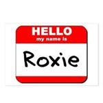 Hello my name is Roxie Postcards (Package of 8)