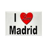 I Love Madrid Rectangle Magnet (10 pack)