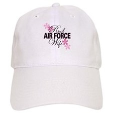 Proud Air Force Wife Baseball Cap