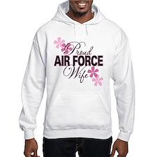 Proud Air Force Wife Hoodie
