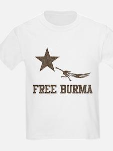 Vintage Free Burma T-Shirt
