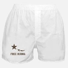 Vintage Free Burma Boxer Shorts