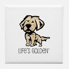 Life's Golden II Tile Coaster